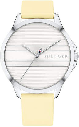 Tommy Hilfiger Women Butter Leather Strap Watch 38mm