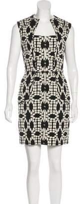 Lela Rose Sheath Mini Dress