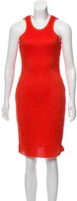 Lanvin Mesh Sleeveless Dress