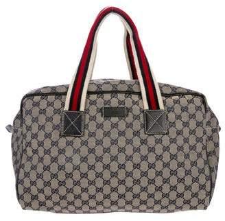 Gucci Vintage GG Plus Duffle Bag