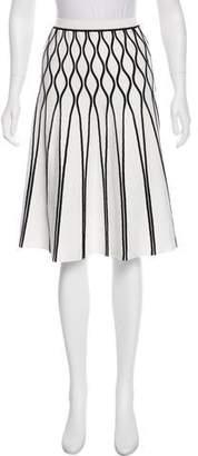 Tomas Maier Knee-Length A-Line Skirt