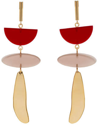 Isabel Marant Red Other Potatoes Earrings