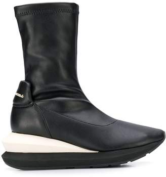 Manuel Barceló chunky sole boots