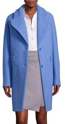 CarvenCarven Virgin Wool Blend Coat
