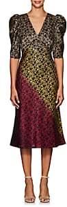 Saloni Women's Colette Floral-Gradient Midi-Dress