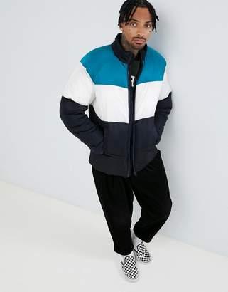 Asos (エイソス) - Asos Design ASOS DESIGN puffer jacket in color block