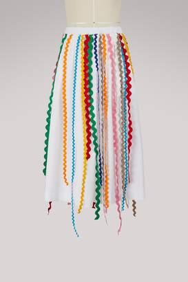 Mira Mikati Cotton ribbon skirt