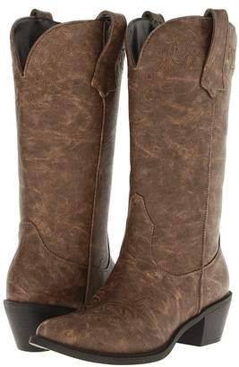 Roper Western Embroidered Fashion Boot Cowboy Boots