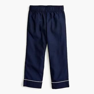 J.Crew Kids' tipped pajama set