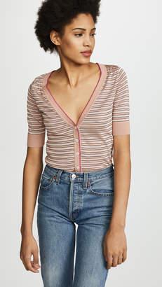 No.21 No. 21 Striped Cardigan
