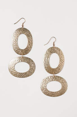 H&M Long Earrings - Gold