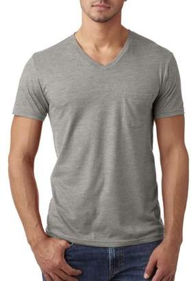 Next Level Apparel 6245 Next Level Men's CVC V with Pocket T-Shirt