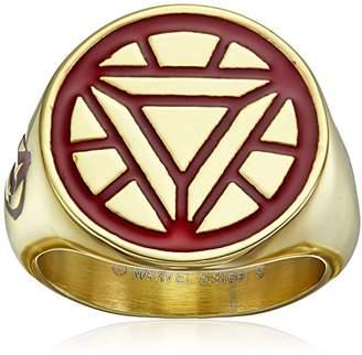 Iron Man Marvel Comics Men's Stainless Steel Enamel Ironman Ring