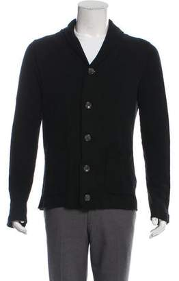 Barneys New York Barney's New York Distressed Knit Cardigan
