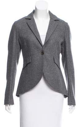 Fabiana Filippi Wool Notch-Lapel Blazer