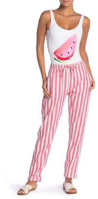 Onia Ella Linen Blend Pants