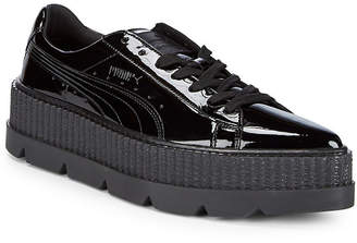 Puma Pointy Creeper Patent Platform Sneaker