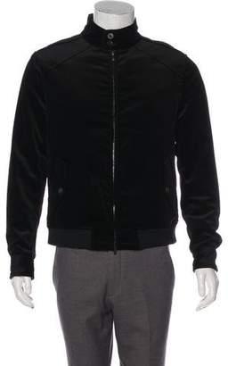 Emporio Armani Velvet Zip Jacket