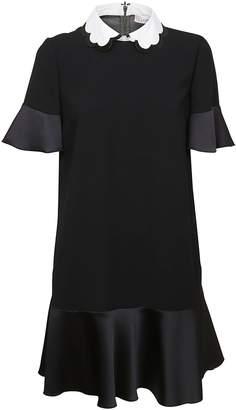 RED Valentino Scallop Collar Dress