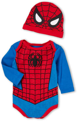 Spiderman Spider Man (Newborn Boys) Two-Piece Bodysuit & Hat Set