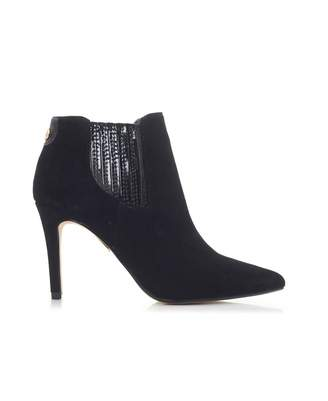 Moda In Pelle Suede Pointed Ankle Boots