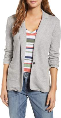 Caslon Two Pocket Knit Blazer