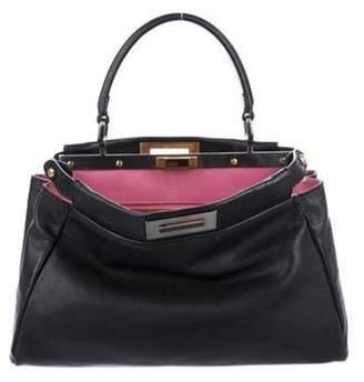 Fendi Medium Peekaboo Bag Black Medium Peekaboo Bag
