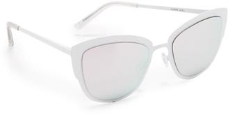 Quay Supergirl Sunglasses $60 thestylecure.com