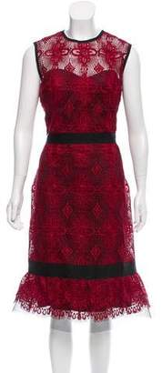 Catherine Deane Lace Midi Dress