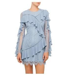 Keepsake Better Days Long Sleeve Lace Dress