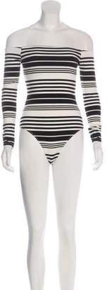 Capulet Striped Knit Bodysuit