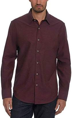 Robert Graham Men's Gouverneur Long Sleeve Classic Fit Woven Shirt