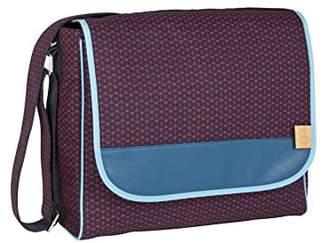 Lassig Casual Diaper/Changing Shoulder Bag, Diamond Navy