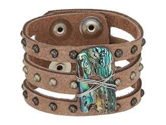 Leather Rock Serena Bracelet