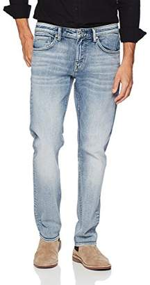 Denim Garage Classics Men's Relaxed Straight Leg Stretch Jean 42X30