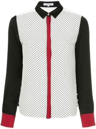 GUILD PRIME dotted panel shirt