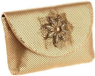 Whiting & Davis Women's Filigree Flower Clutch