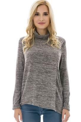 681977e0c18c1 Bearsland Women's Maternity Clothes Comfy Long Sleeves Breastfeeding Shirts  and Nursing Tops