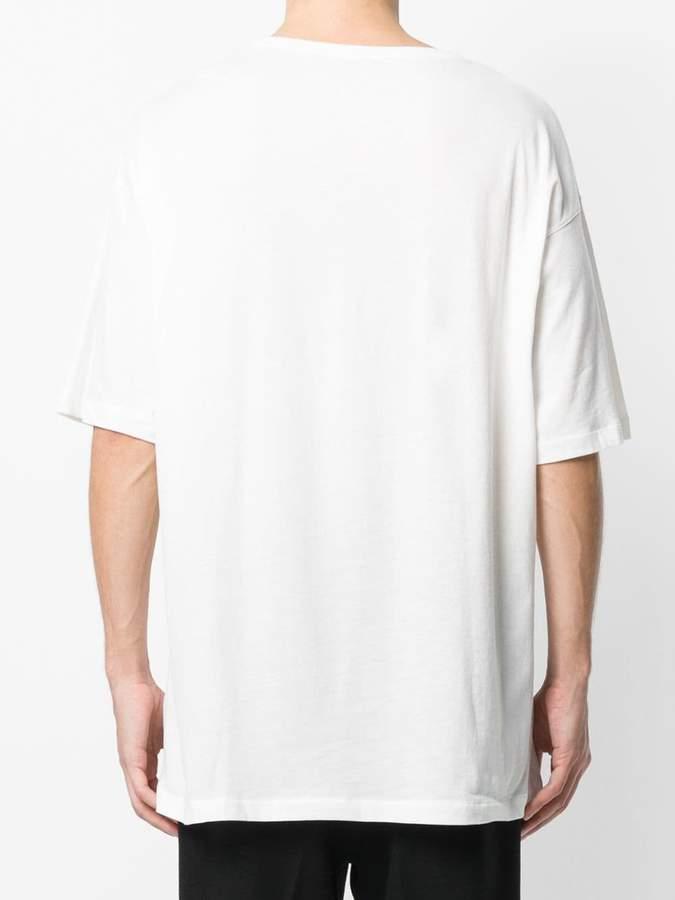 Ann Demeulemeester l'avenir print T-shirt