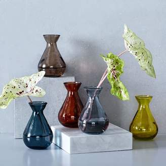 west elm Recycled Glass Bud Vases