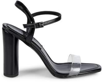 9d47d362461c4 BCBGeneration Black Heeled Women's Sandals - ShopStyle