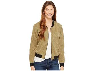 Sanctuary Palmaflage Bomber Jacket Women's Coat