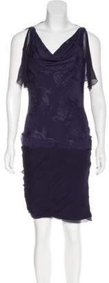 Christian Dior Silk Open Back Dress