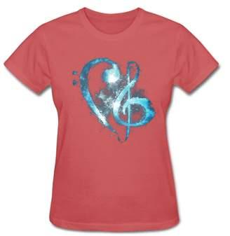 Christina Shronm Women's Music Mark Blessing for Grimmie T-Shirt