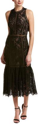 Rebecca Taylor Arella Lace Midi Dress
