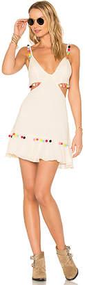 MAJORELLE x REVOLVE Capsize Dress in Ivory $198 thestylecure.com