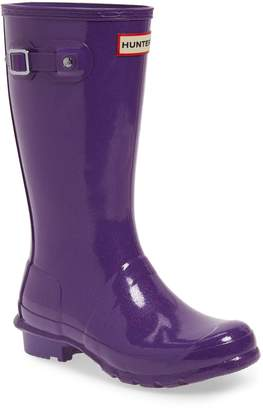 Hunter Starcloud Glitter Rain Boot