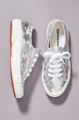 Superga Metallic Star Sneakers