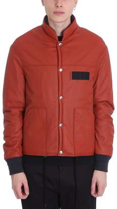 Lanvin Red Polyester Down Jacket