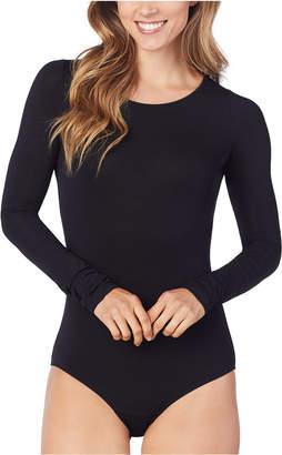 Cuddl Duds Women Softwear With Stretch Long-Sleeve Bodysuit